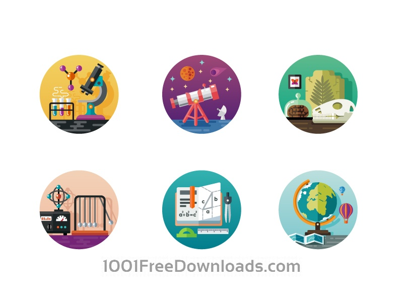 800x600 Free Vectors Science Icon Pack Icons
