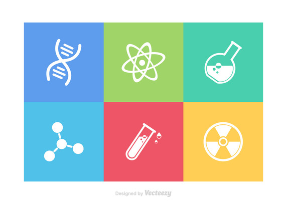 572x407 Science Icons Vector Free Vector Download In .ai, .eps, .svg Format