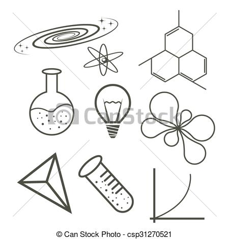 450x470 Science Icons.