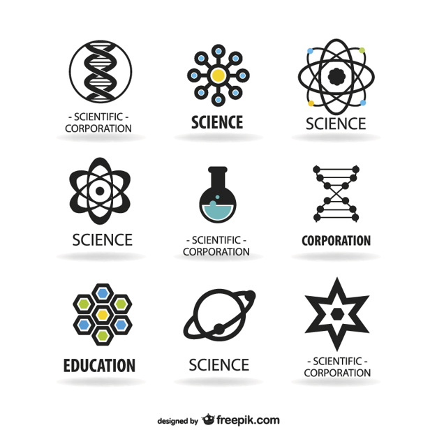 626x626 Science Logos Template Vector Free Download