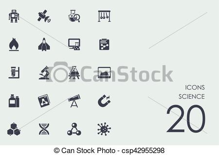 450x319 Set Of Science Icons. Science Vector Set Of Modern Simple Icons.