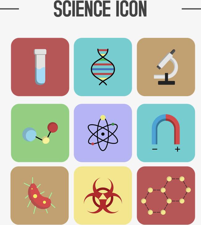 650x726 Vector Hand Painted Scientific Icon, Hand Vector, Icon Vector