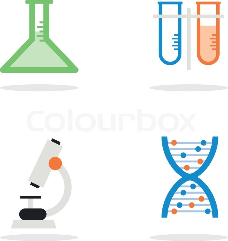 758x800 Science Lab Equipment And Symbol Icon,vector Design Illustration