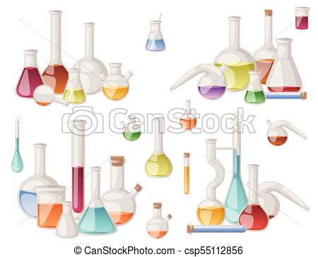 450x364 Chemical Flask Laboratory Vector Lab Glassware Tube Liquid