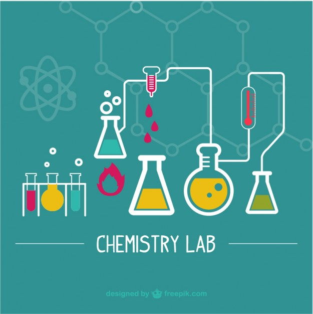 625x626 Science Laboratory Illustration Vector Free Download