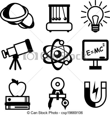 448x470 Science Clipart Vector Art