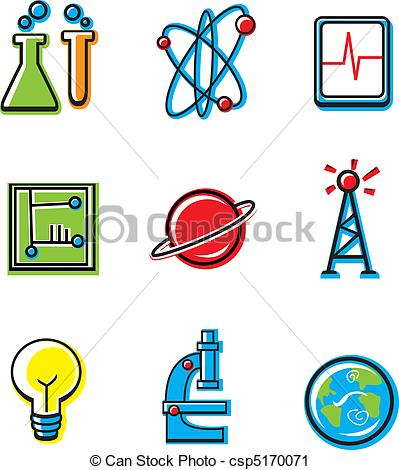 399x470 Science Icons. A Variety Of Cartoon Icons With A Science Theme.
