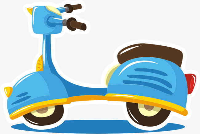 650x437 Scooter Vector, Scooter, Transport Vehicle, Vehicle Png And Vector