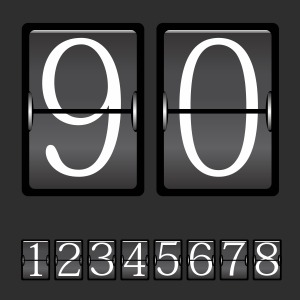300x300 Beautiful Mechanical Scoreboard Vector