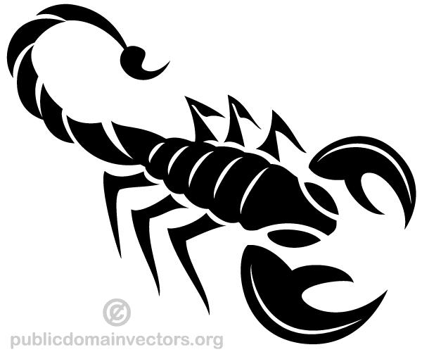 600x500 Scorpion Vector Art 123freevectors