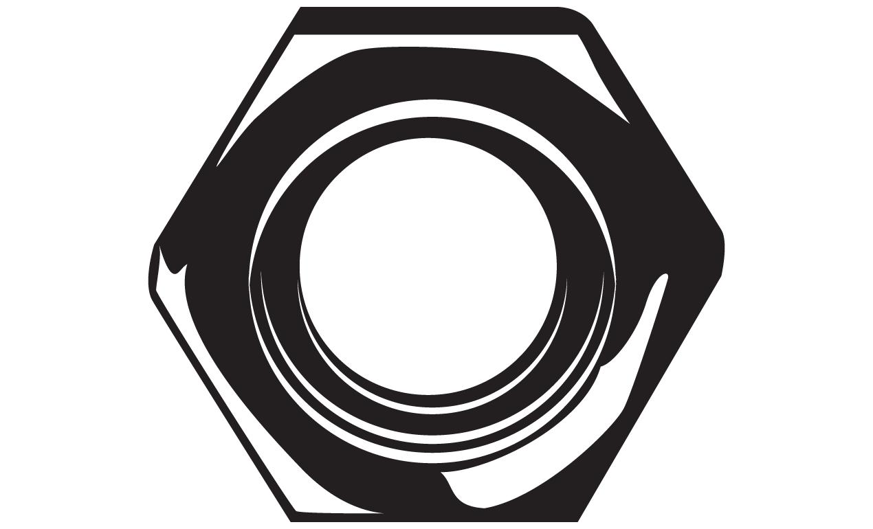 1270x770 Nut Clipart Bolt Logo