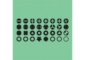 285x200 Screw Head Free Vector Graphic Art Free Download (Found 1,729