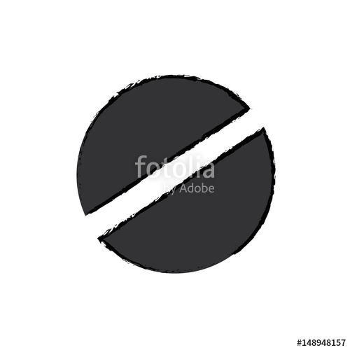 500x500 Screw Head Tool Icon Vector Illustration Graphic Design Stock