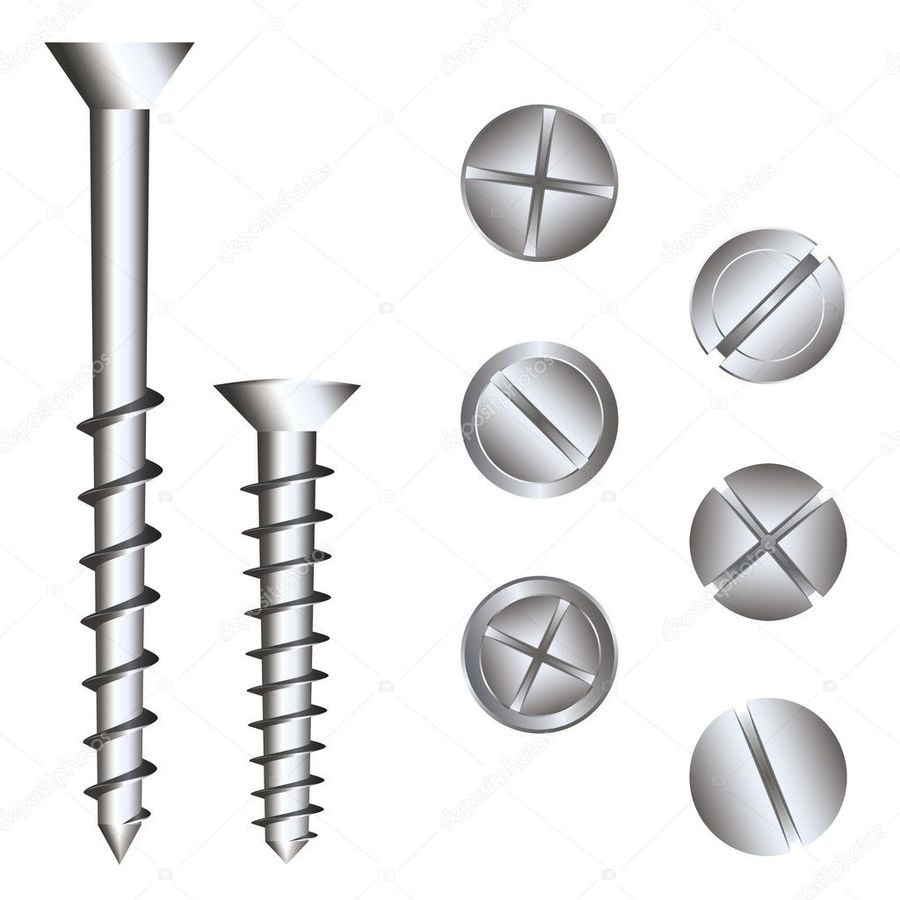900x900 Download Screw Head Vector Free Clipart Screw Royalty Free