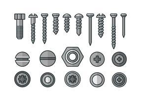 286x200 Screw Free Vector Art