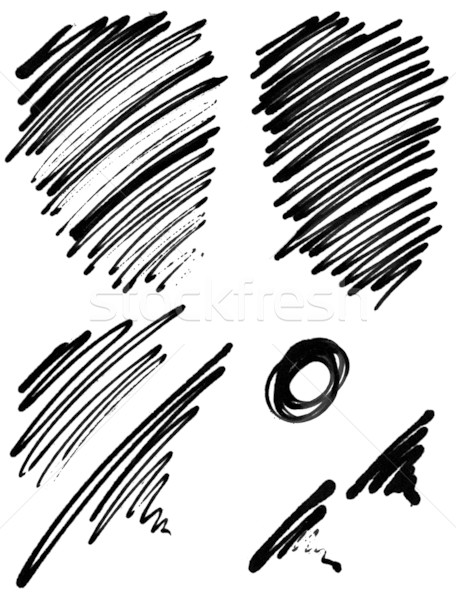 456x600 Abstract Ink Scribbles Stock Photo Gabriel Schroer