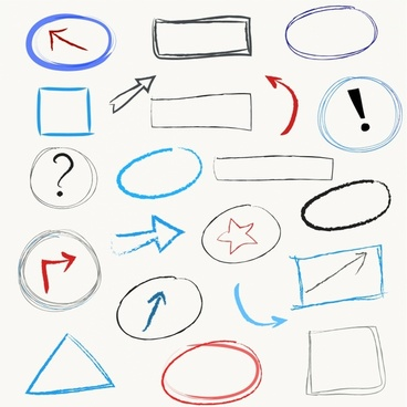 368x368 Scribbles Vector Free Vector Download (54 Free Vector) For