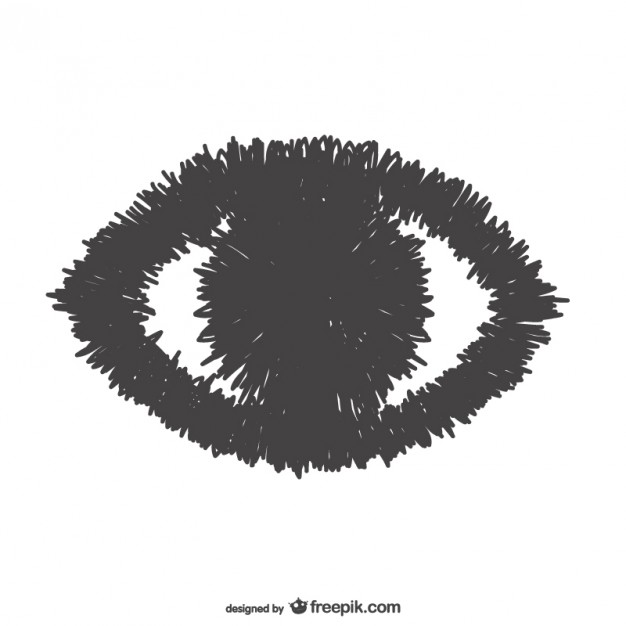 626x626 Eye Scribble Vector Vector Free Vector Download In .ai, .eps