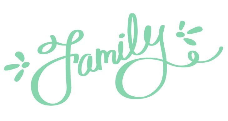 730x388 Free Vector Script! This Hand Lettered Family Script Is Free For