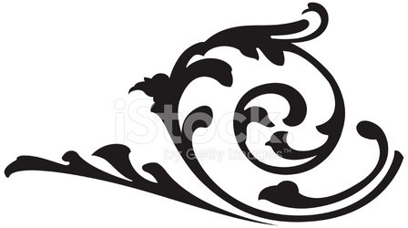 448x250 Vector Scroll Design Stock Vectors