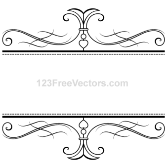 Scroll Frame Vector