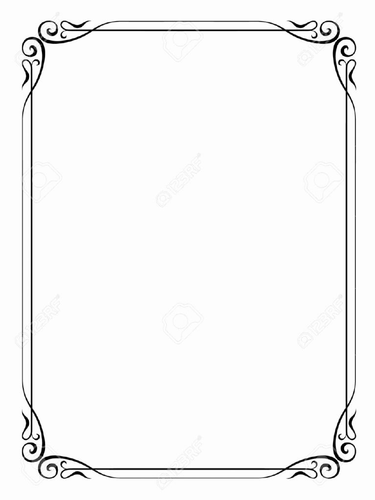 Scroll Frame Vector at GetDrawings com | Free for personal