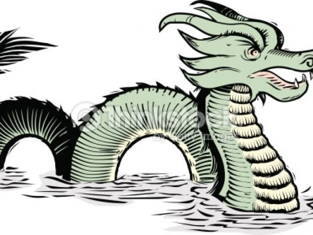 640x480 Sea Monster Clipart Vector Sea 5
