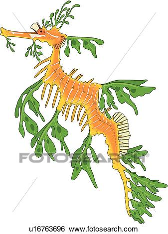 337x470 Sea Monster Clipart Sea Dragon