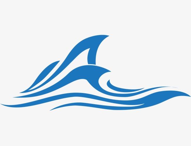 650x496 Big Sea Waves, Sea Vector, Waves Vector, Classical Wave Pattern