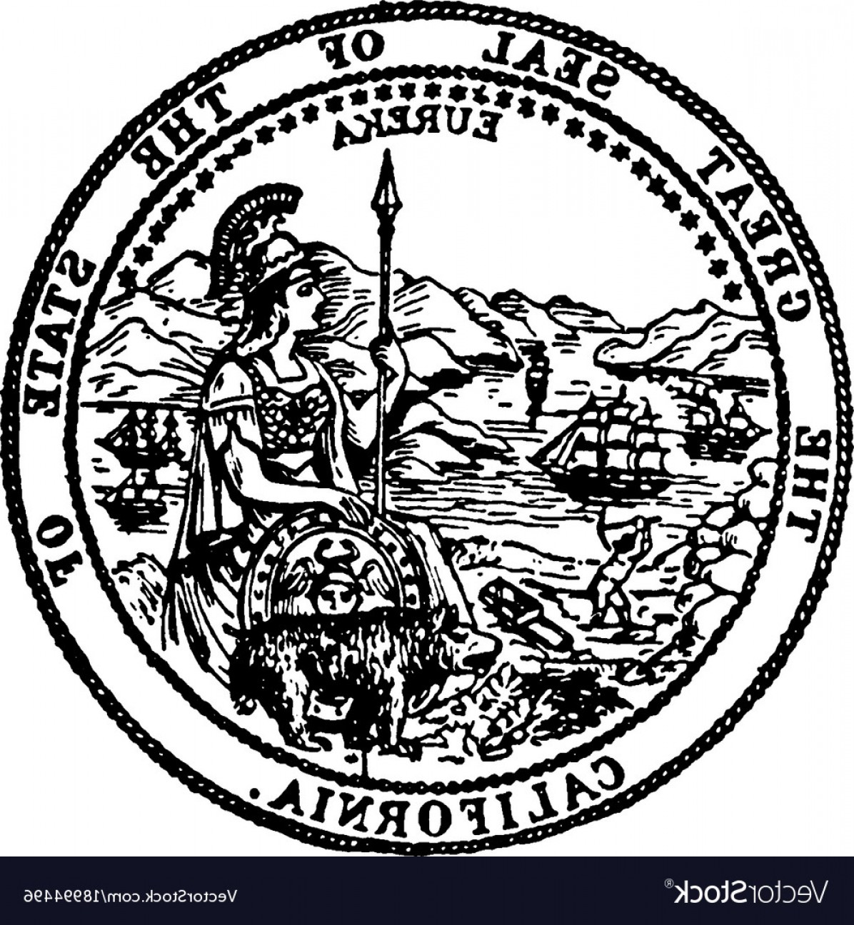 1196x1296 State Of Nebraska State Seal Vector Geekchicpro