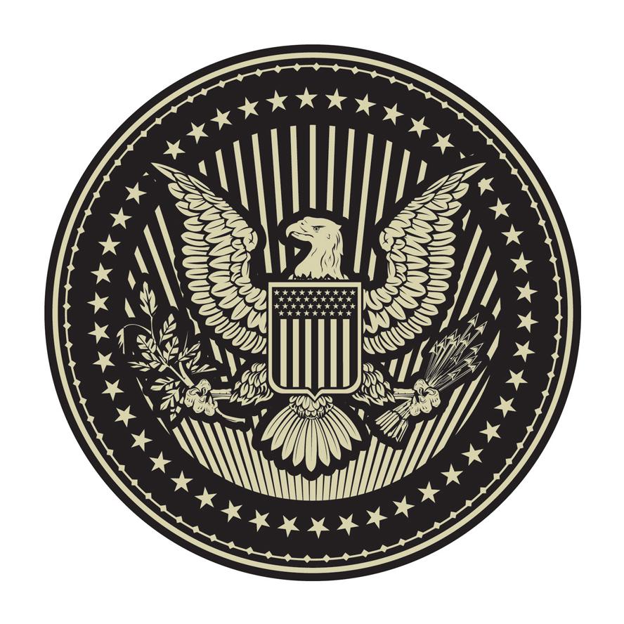 888x888 America Clipart Seal