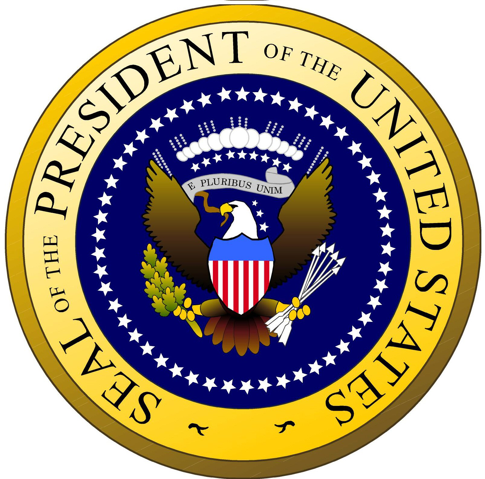1604x1585 Clip Art Freeuse Library Presidents United States