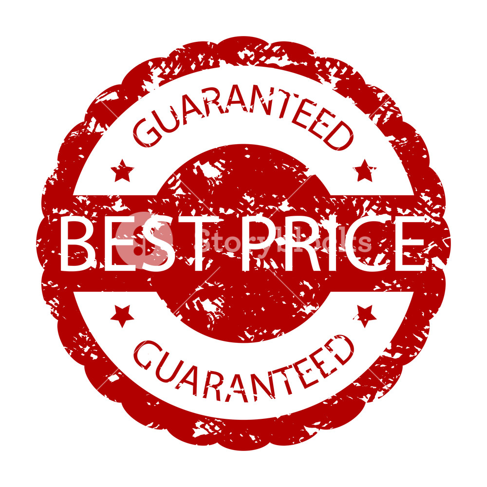 1000x1000 Best Price Guaranteed Rubber Stamp. Vector Icon Ink Stamp Price