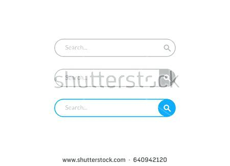 450x326 Search Box Design Template Stock Vector Website Templates With