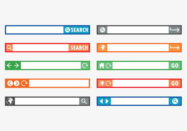 650x456 Subject Search Bar, Search Vector, Subject Bar, Web Bar Png And
