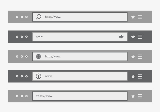 650x456 Gray Theme Bar, Vector Theme Bar, Gray Title Bar, Gray Search