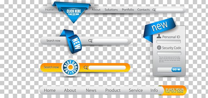 728x345 Search Box Navigation Bar User Interface Button, Landing
