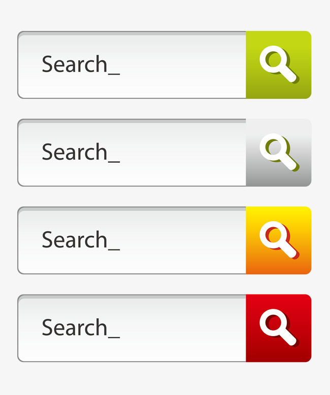 650x779 Colored Arrows Search Box, Search Vector, Box Vector, Color Png