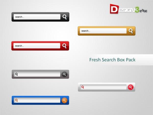 600x451 Slim Search Box Set Psd