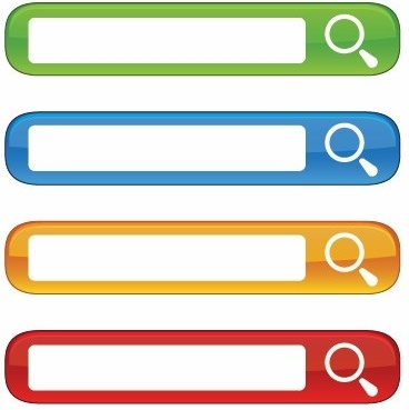368x369 Free Colorful Website Search Boxes Vector Free Vector In