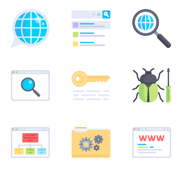 600x564 Search Icons