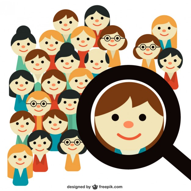 626x626 People Search Vector Free Download