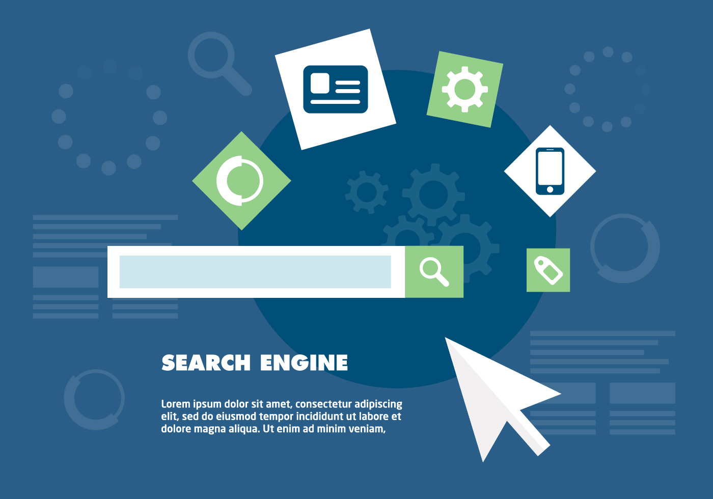 1400x980 Search Engine Free Vector Art