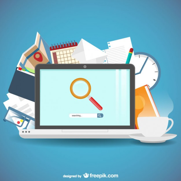 626x626 Search Engine Concept Vector Free Download