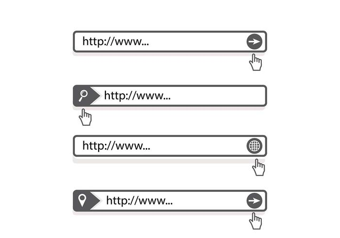 700x490 Address Bar Search Engine Vector