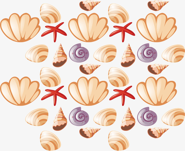 650x530 All Kinds Of Shells, Vector Png, Shell, Sea Shells Png And Vector