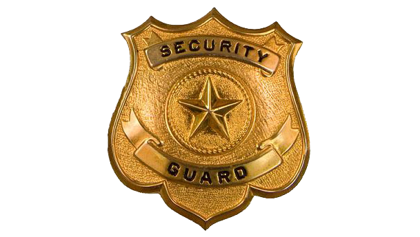 609x344 Security Guard Badge Vector Art Icon Web Icons Png