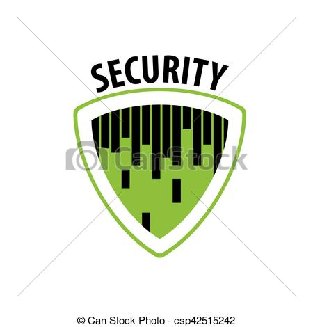 450x470 Vector Logo Security. Pattern Design Logo Security. Vector