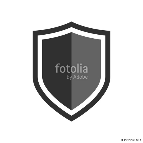 500x500 Vector Shield Icon. Security Vector Icon Collection. Protection