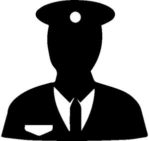 300x283 Security Guard Vector